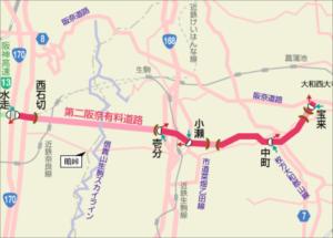 第二阪奈道路