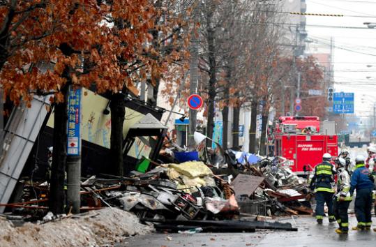 札幌の大爆発の原因はスプレー缶?被害状況や現場のビフォー・アフターなど