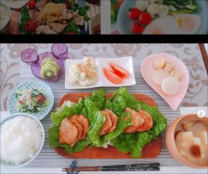 杉岡沙絵子、料理