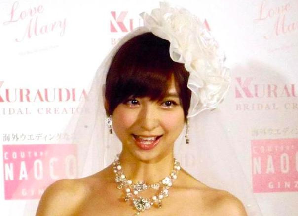 篠田麻里子の結婚式の場所・日程は?ドレス・結婚指輪のブランドなど