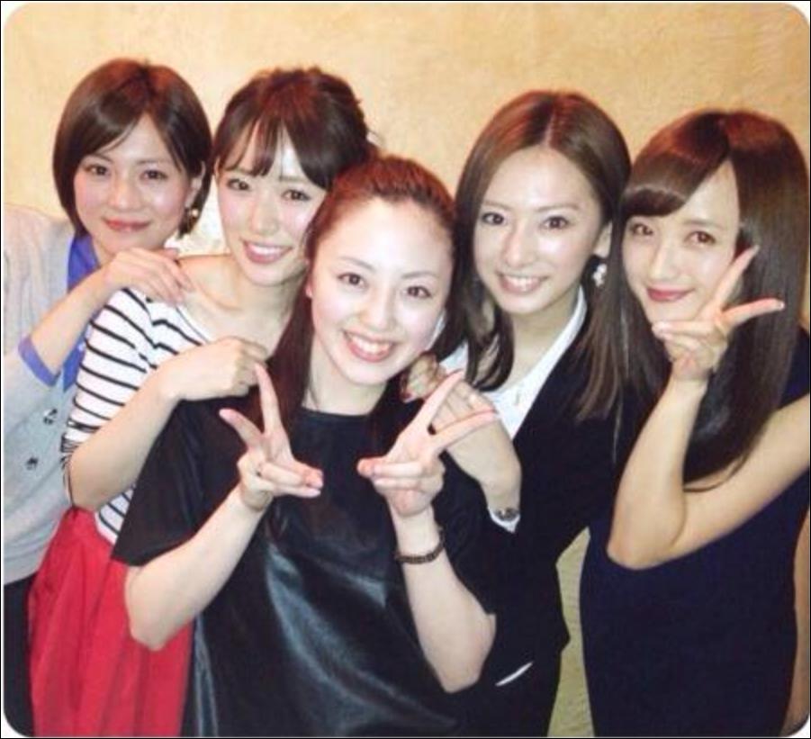 沢井美優とよく食事をする泉里香と北川景子と安座間美優、小松彩夏