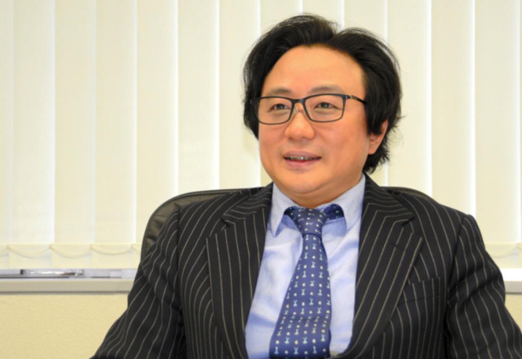 陳海波社長の写真
