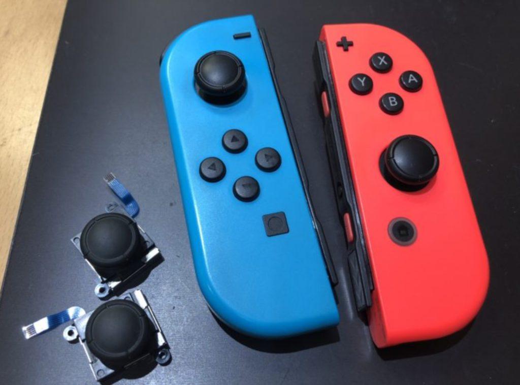 ジョイスティック(ジョイコン)のセルフ修理方法!【Nintendo Switch】